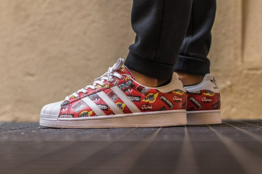"adidas Originals Superstar by NIGO ""Scarlet"""