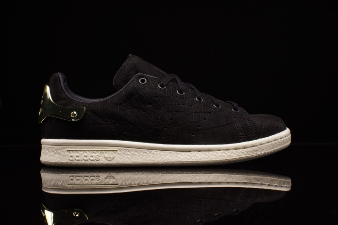 adidas Originals Stan Smith Metal WMNS Black/Gold