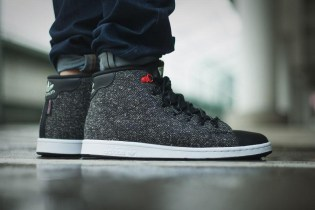 "adidas Originals Stan Smith Winter Mid ""Core Black"""