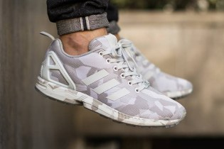 adidas Originals ZX Flux Vintage White/Clear Grey Camo