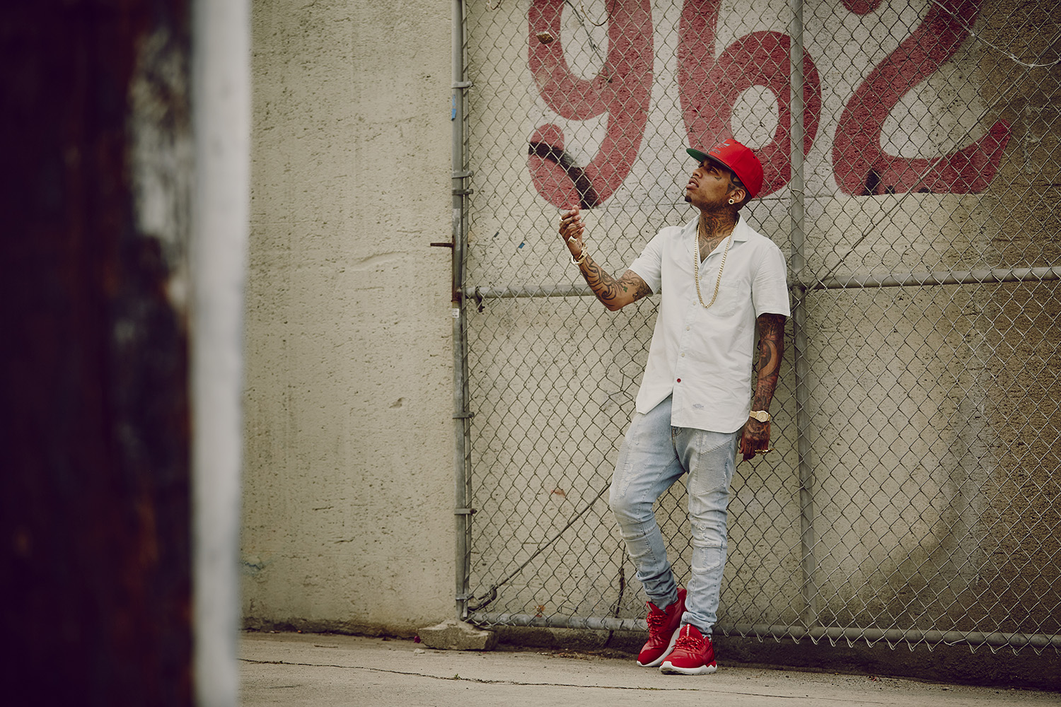 "adidas Originals Tubular Runner ""Red"" & ""White"" Featuring Kid Ink"
