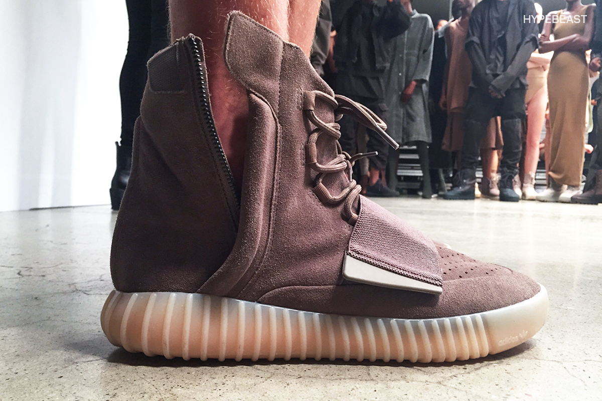 Kanye West Reveals New Yeezy Boost 750 Colorway at Yeezy Season 2 Show