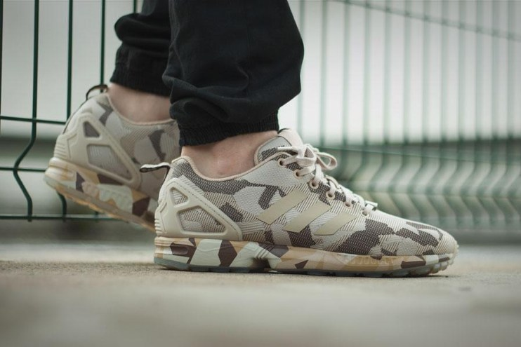 adidas ZX Flux Brown/Hemp Camo