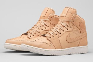"Air Jordan 1 Pinnacle ""Vachette Tan/White"" Release Date"