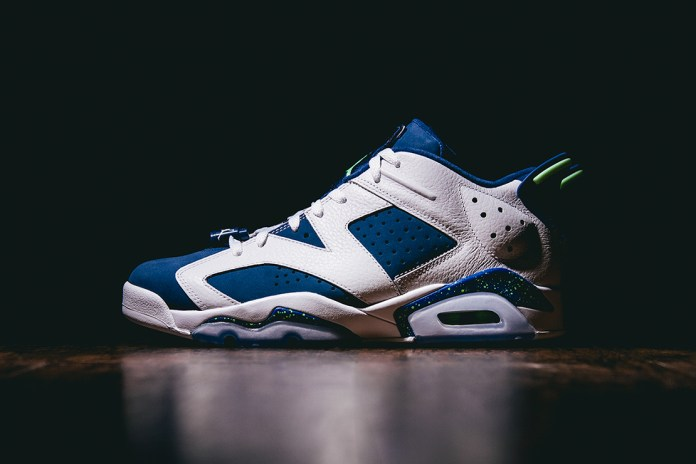 "Air Jordan 6 Retro Low ""Insignia Blue"""
