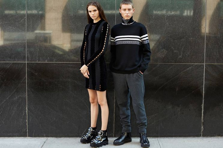 Alexander Wang 2015 Fall/Winter Editorial by Opening Ceremony