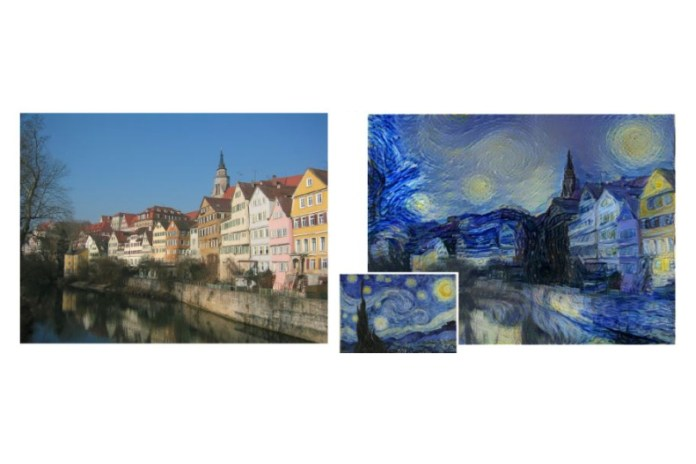 Newly Developed Algorithm Turns Your Photos Into the Style of Any Famous Artist
