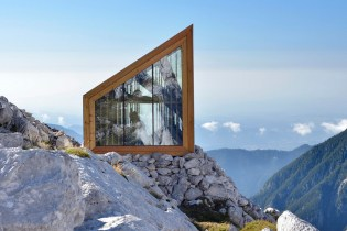 An Alpine Shelter Built for Extreme Weather