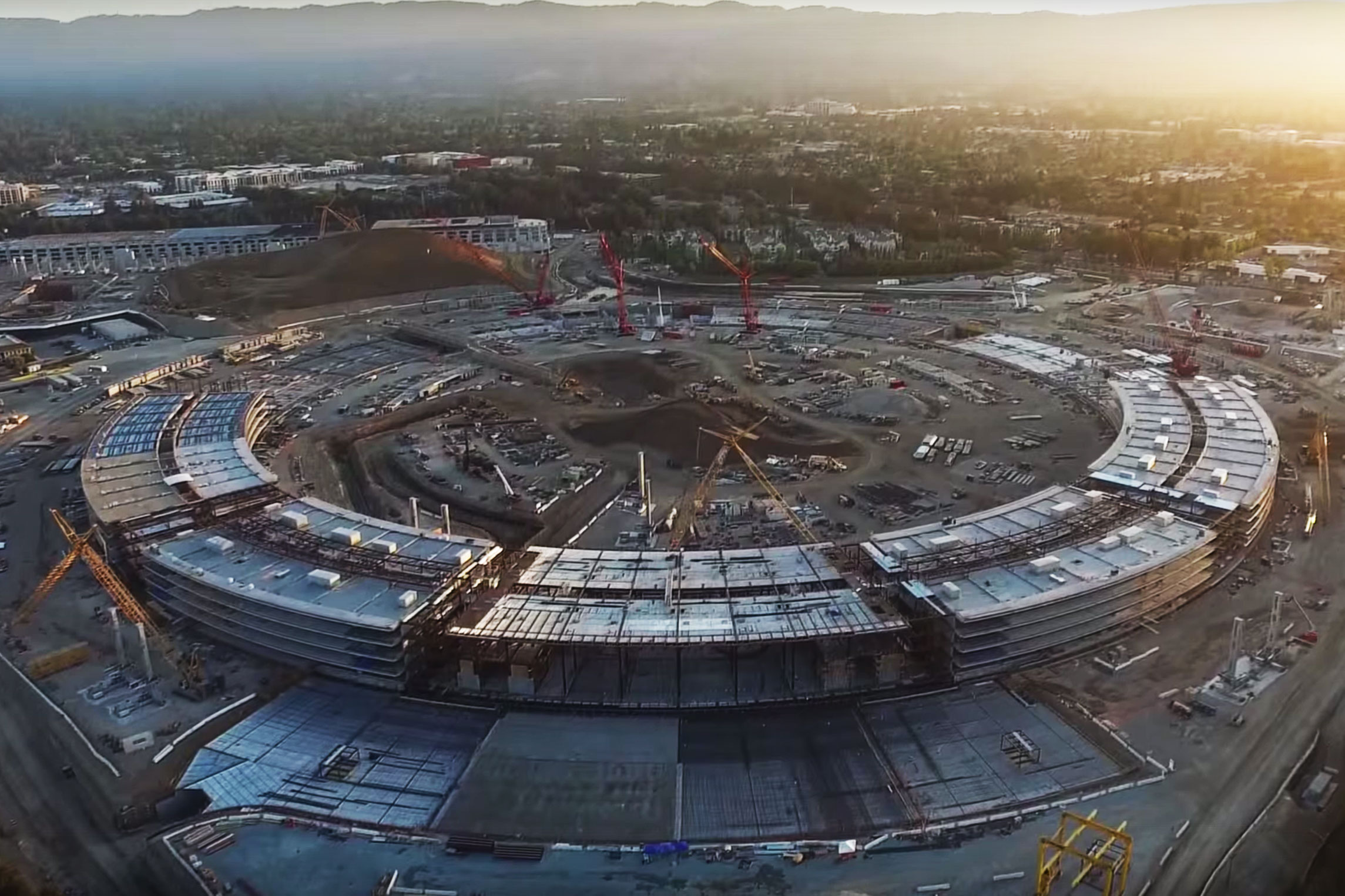 Watch Apple's Campus 2 Begin to Take Shape | Video