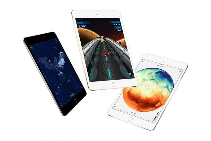 Apple Unveils the iPad mini 4