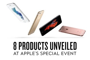 8 Products Unveiled at Apple's Special Keynote Event