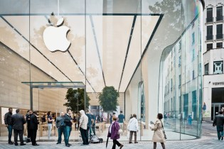 Apple's Own Jony Ive Helps Design New Brussels Store Interior