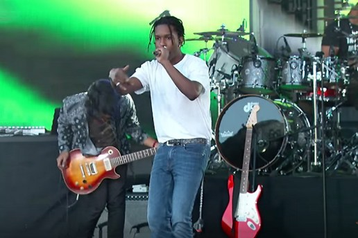 "A$AP Rocky and Bones Perform ""Canal St."" on Jimmy Kimmel Live"