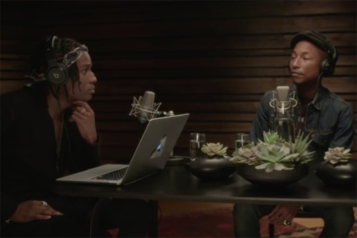 A$AP Rocky Joins Pharrell on Beats 1 Radio Program 'OTHERtone'