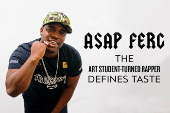 A$AP Ferg: The Art Student-Turned-Rapper Defines Taste