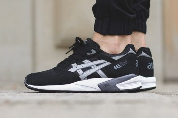 ASICS GEL Saga Black/Light Grey
