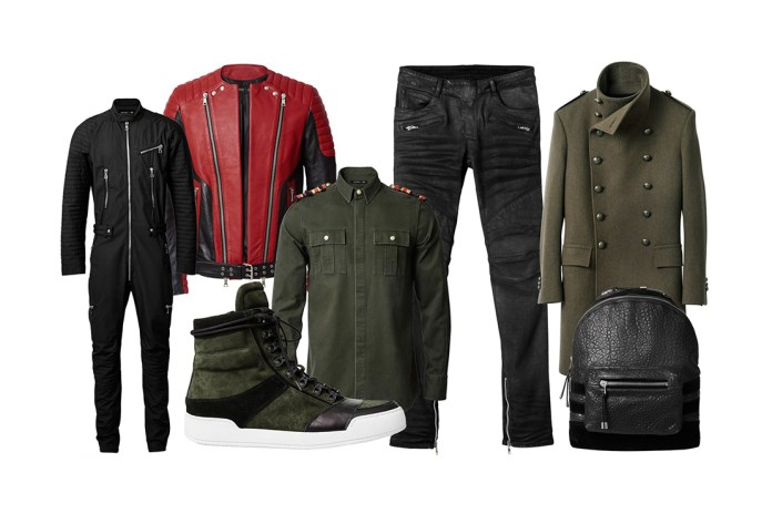 A First Look at the Balmain x H&M Collection