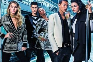 Kendall Jenner, Gigi Hadid & Jourdan Dunn Star in the Balmain x H&M Campaign