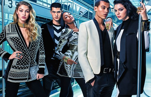 Kendall Jenner, Gigi Hadid & Jourdan Dunn Star in the Balmain x H&M Campaign