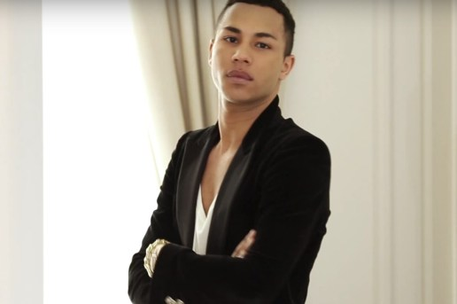 Olivier Rousteing Talks Balmain x H&M Collection