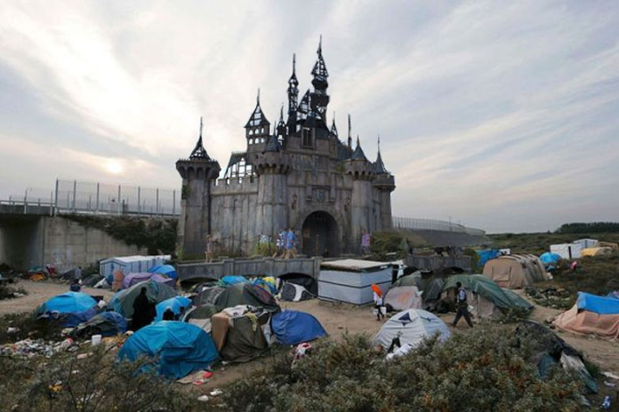 Banksy's Dismaland is Relocating to Calais