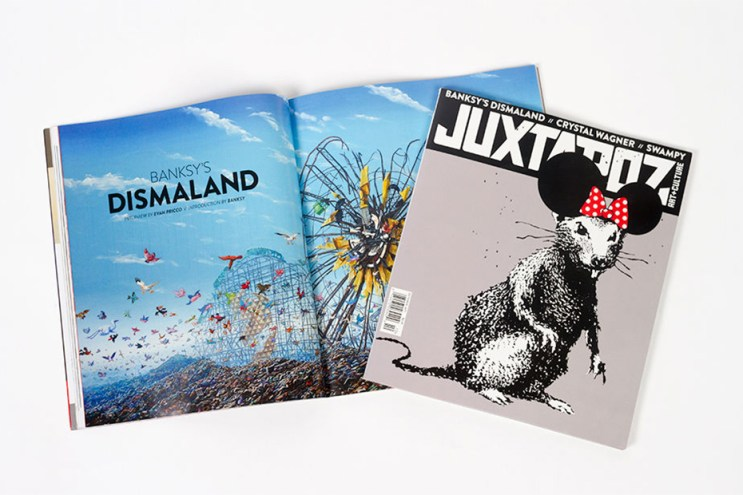 Banksy Covers the 2015 October Issue of 'Juxtapoz'