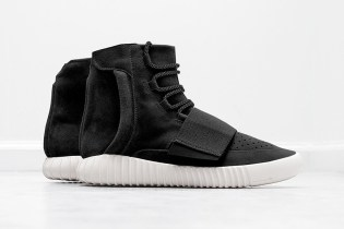 """A First Look at the adidas Originals Yeezy 750 Boost """"Black"""""""