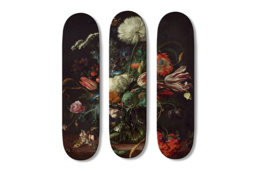 Boom-Art's 18th Century Baroque Surf and Skate Boards