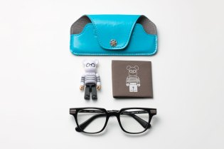 Boston Club x BE@RBRICK POKER FACE 25th Anniversary Eyewear Set