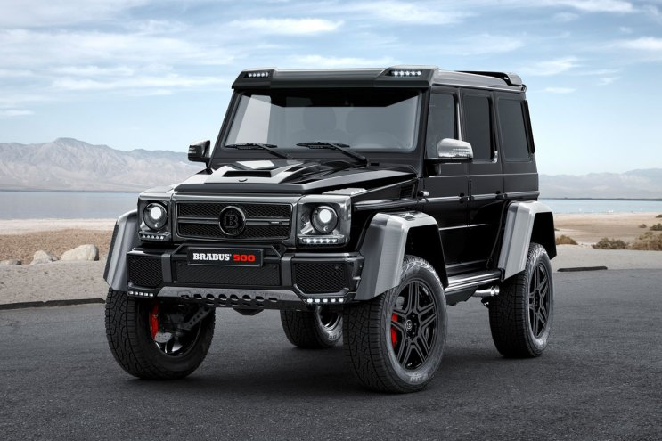 BRABUS Gives the Gigantic Mercedes G500 4x4² a Powerful Update