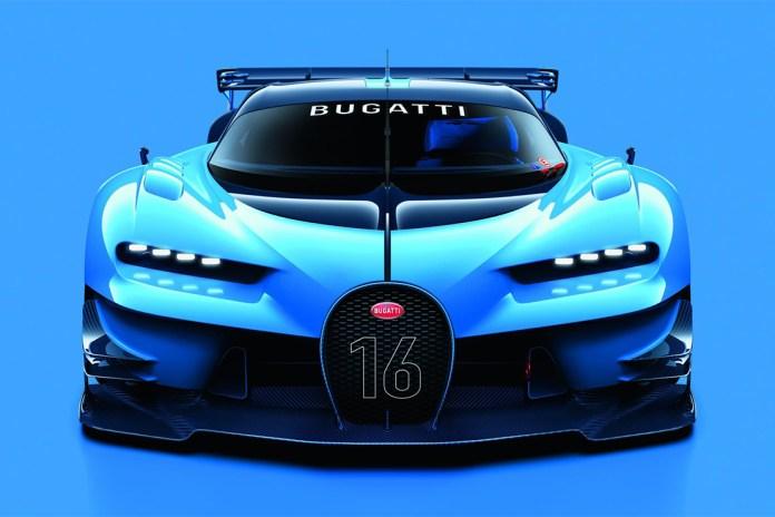 Bugatti Unveils Its Vision Gran Turismo Concept