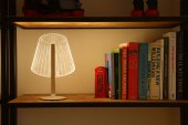 Bulbing 2D and 3D Acrylic Lamps by Studio Cheha