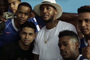Carmelo Anthony Explores Soccer Culture in Cuba