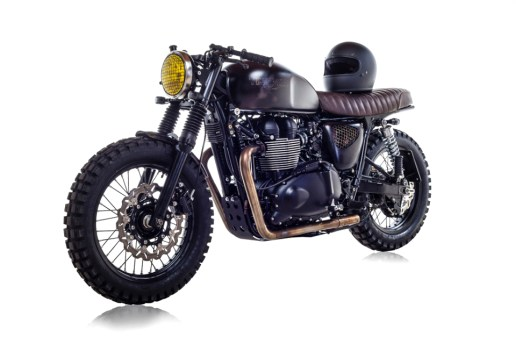 David Beckham's British Customs DBSC Motorcycle