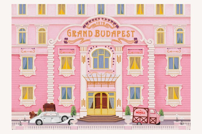 Check out These Postcards and Stamps of Wes Anderson's Films