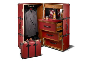 Chivas Regal x Globe-Trotter Luxury Travel Trunk
