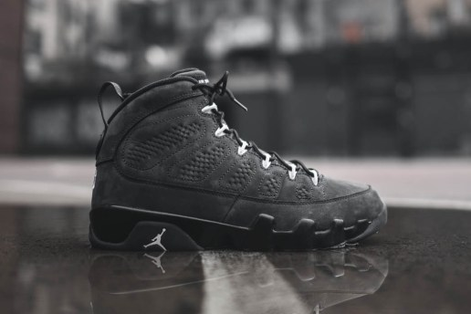 "A Closer Look at the Air Jordan 9 Retro ""Anthracite"""