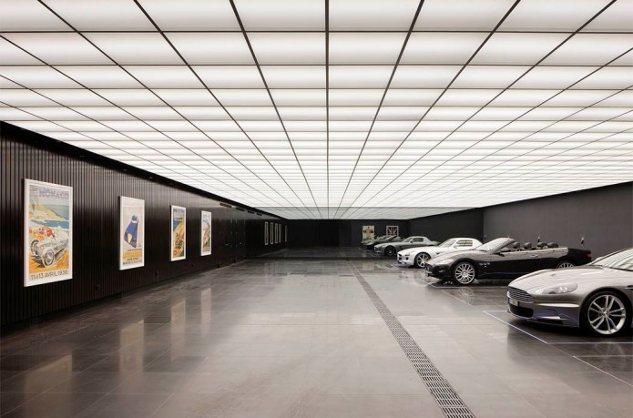 This Garage Is Modeled and Influenced by 'The Dark Knight'
