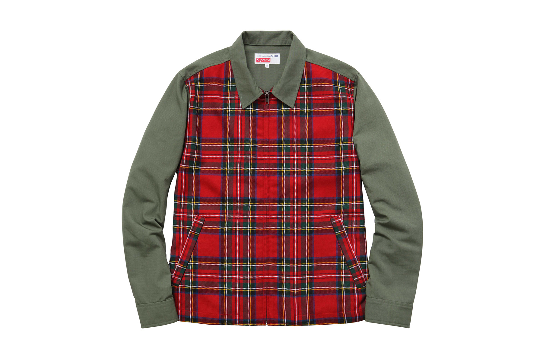 COMME des GARÇONS SHIRT x Supreme 2015 Fall/Winter Collection