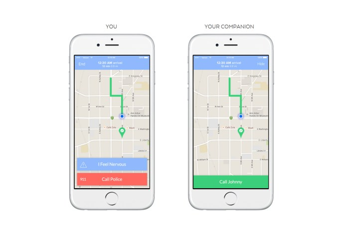 The Companion App Makes Sure You're Safe Walking Home at Night