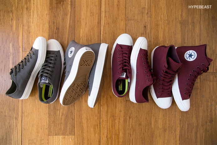 """Converse Chuck Taylor All Star II """"Bordeaux"""" and """"Thunder"""""""