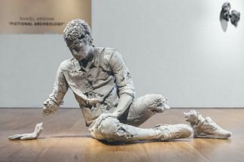 "Daniel Arsham ""Fictional  Archeology"" Exhibition @ Galerie Perrotin Hong Kong"