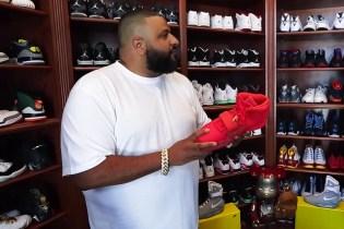 A Look Inside DJ Khaled's Sneaker Closet