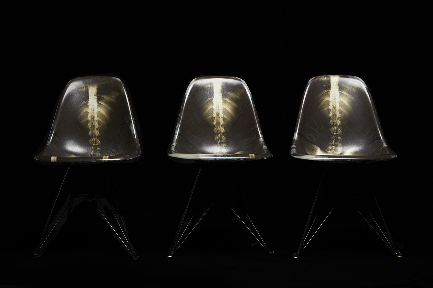 Dr. Woo x Modernica Limited Edition Fiberglass Side Chair