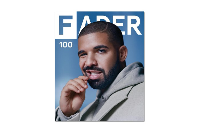 Drake Hits the Cover of the 100th Issue of 'The FADER' With a Rare Interview