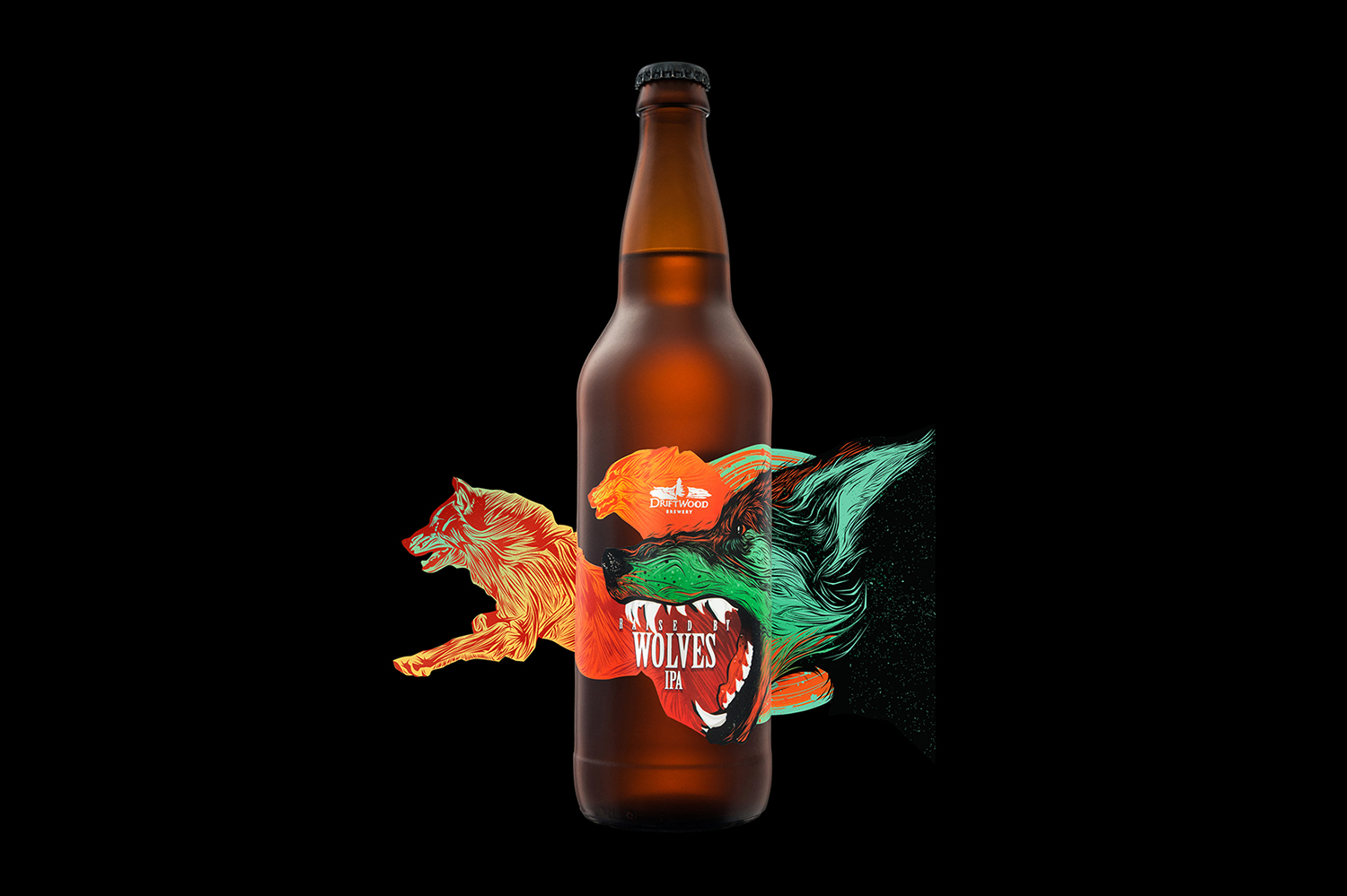 Driftwood Brewery Presents New Raised by Wolves IPA