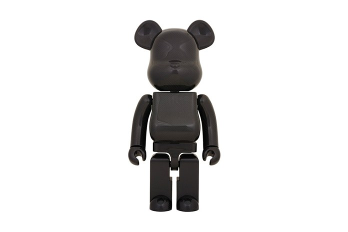 "Medicom Toy ""Dry Carbon"" 1000% Bearbrick"