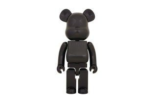 "Medicom Toy ""Dry Carbon"" 1000% Bearbrick"