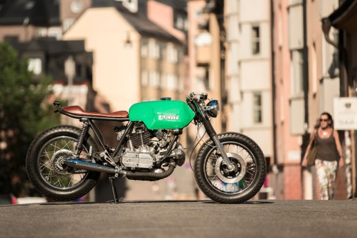 Ducati 860 GTS Cafe Racer by 6/5/4 Motors
