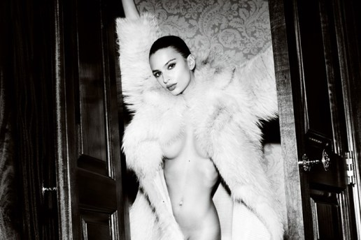 Emily Ratajkowski by Mario Testino for the 2015 September Issue of 'British GQ'